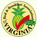 Inspected & Approved Member of the Bed & Breakfast Association of Virginina